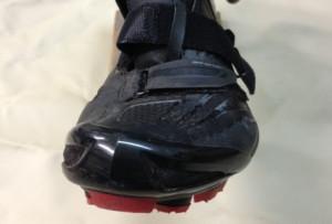 Shimano XC70E - extrem breit geschnittener Vorderfuß verschafft Spielraum für alle Zehen.