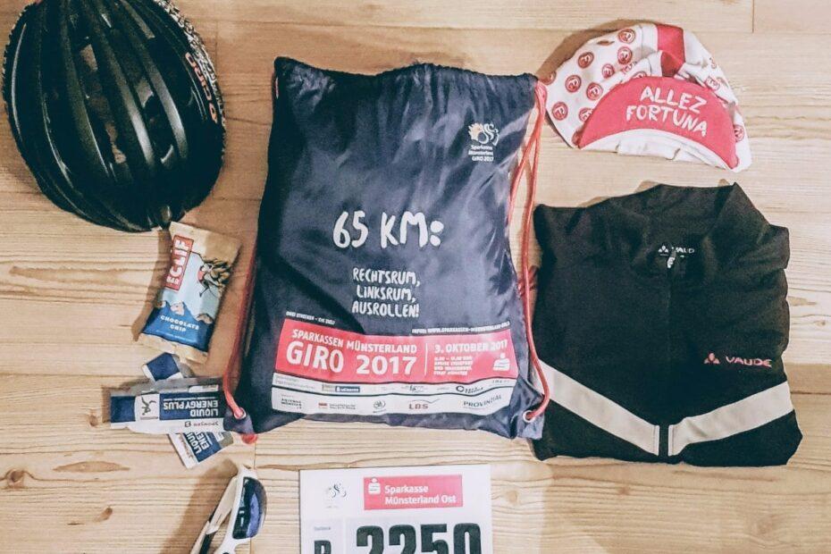 Münsterland Giro 2017 - Alles gepackt Coffee and Chainrings Umsturzvegan