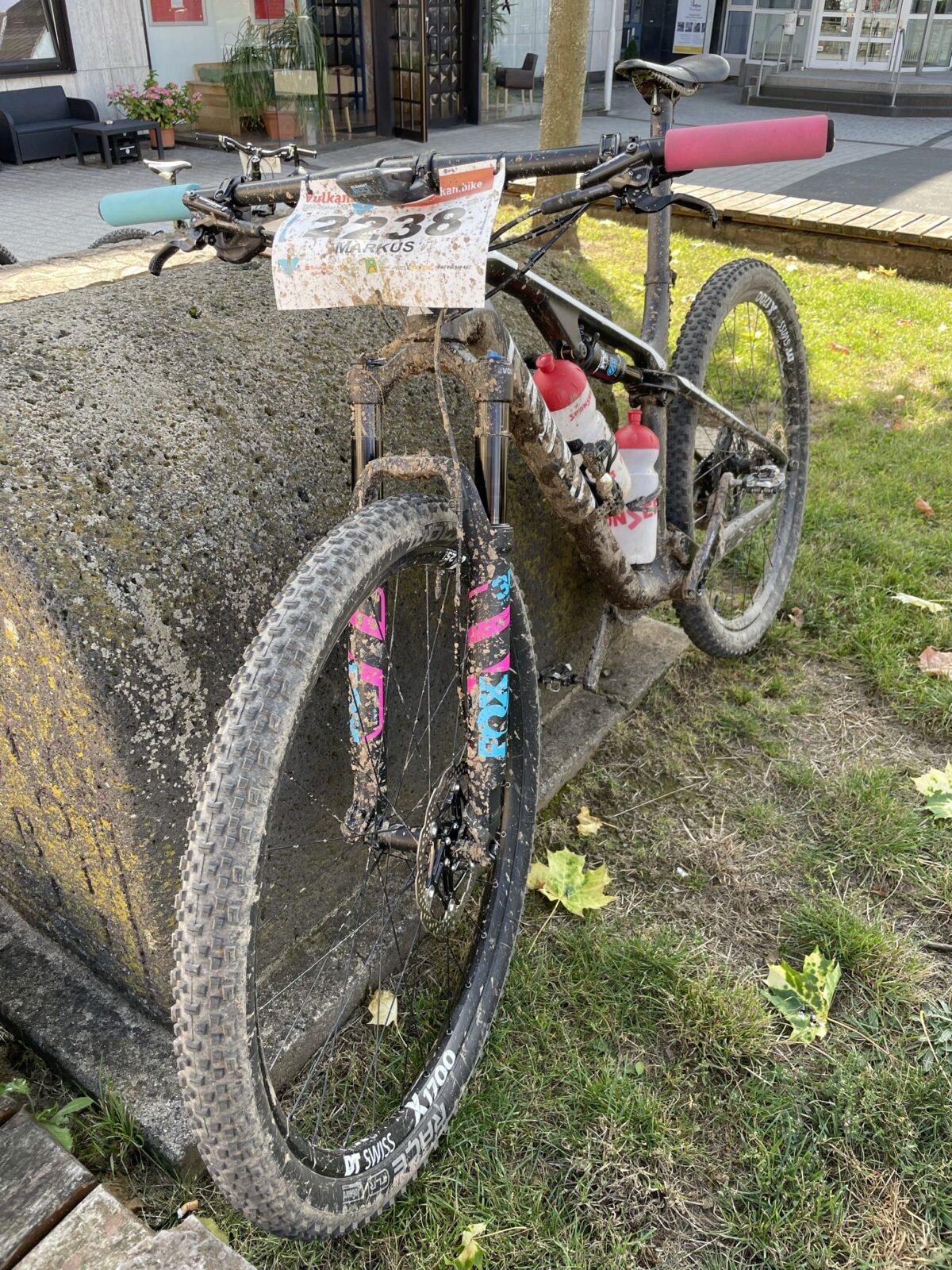 Bike Ziel Dreck